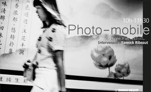 atelier photo avec un appareil mobile